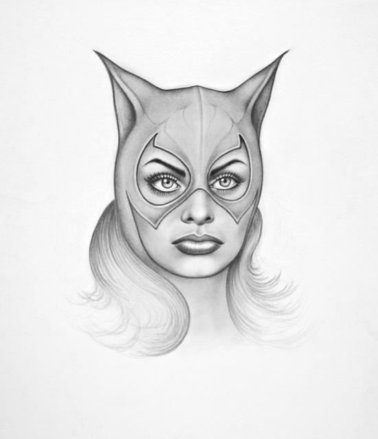 Sophia as Catwoman