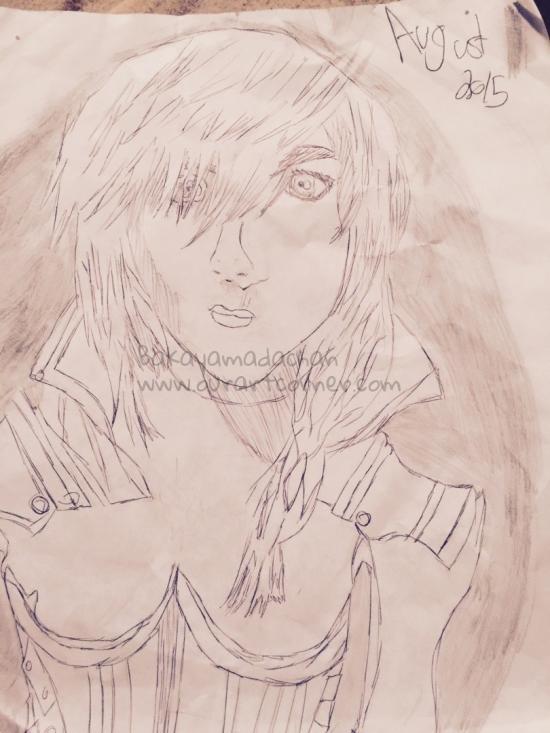 Lightning Farron drawing