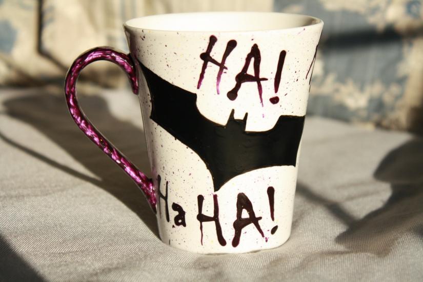 Joker style mug