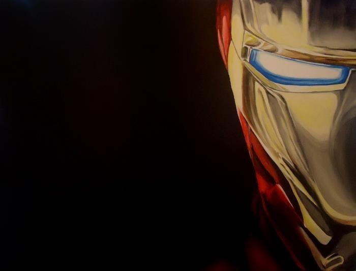 Iron-Man (First Iron-Man I ever painted 2012)
