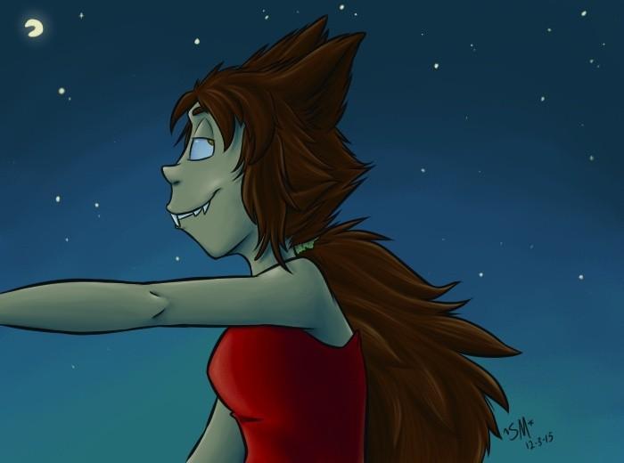 Julie- In the Moonlight