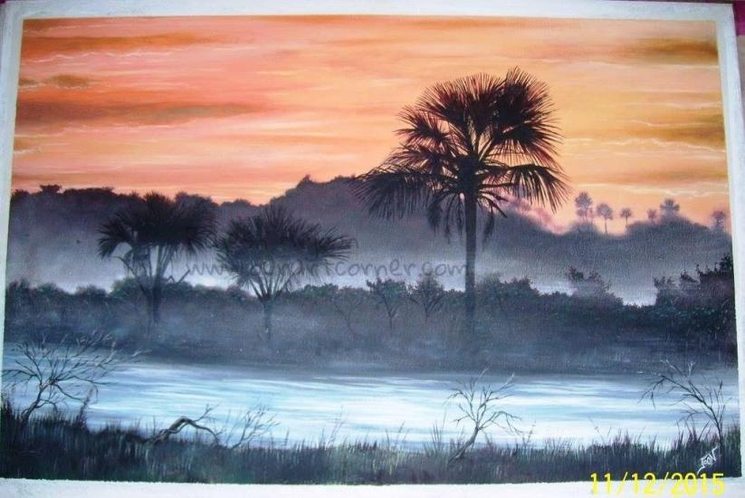 Dawn at Wild Palm Lake