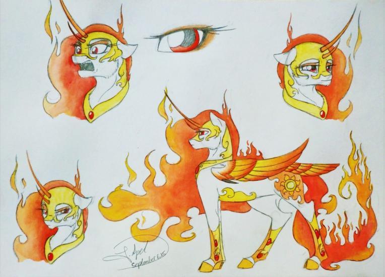 Sketchdump - Solar Flare