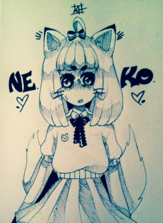Neko girl :3