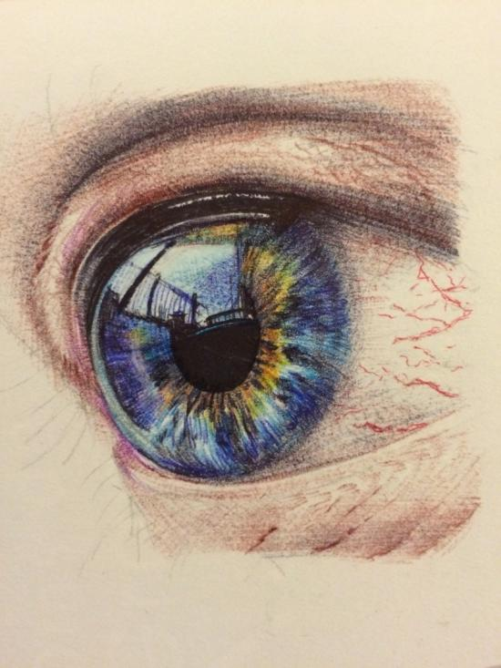Eye hyperealistic WIP 2