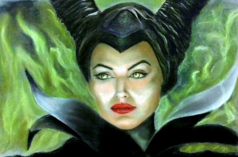 maleficent  Jolie