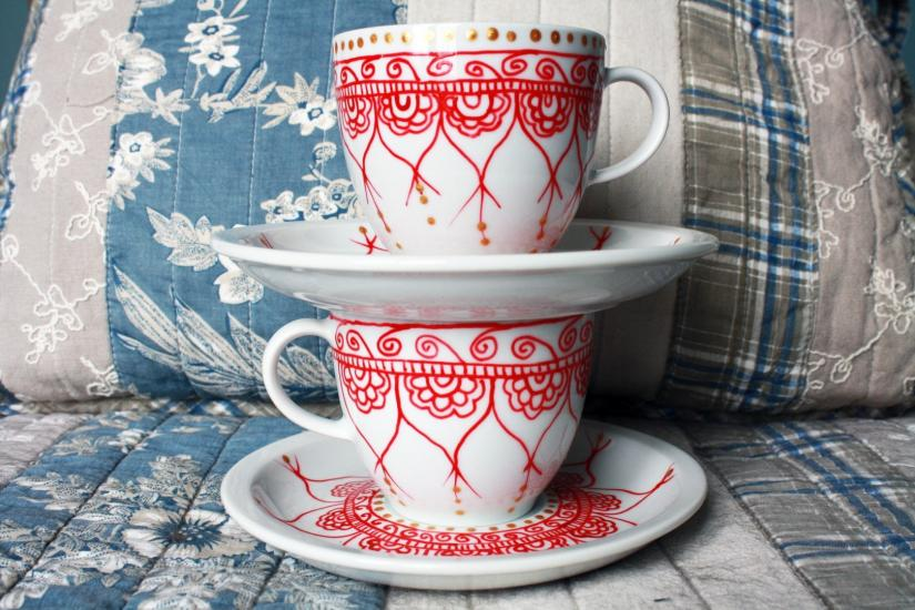 Mug paint set