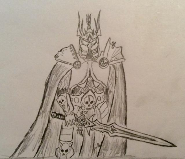 Arthus the Litch King sketch