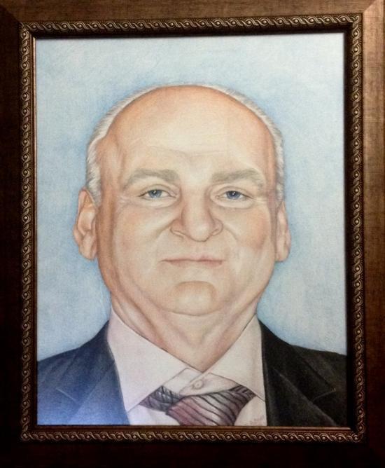 My uncle's portrait