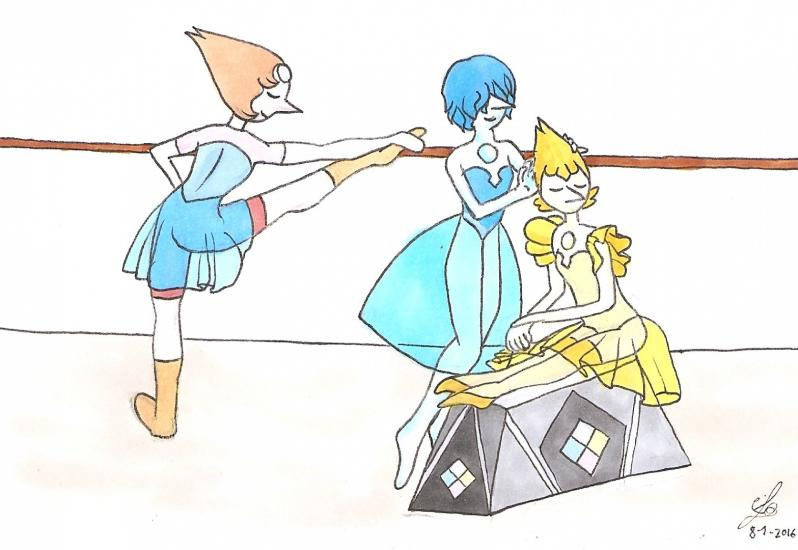 Ballet Pearls from Steven Universe