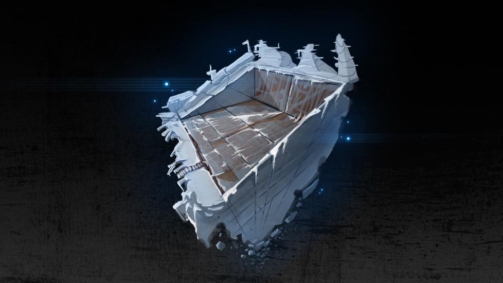 Iceberg Tower diorama