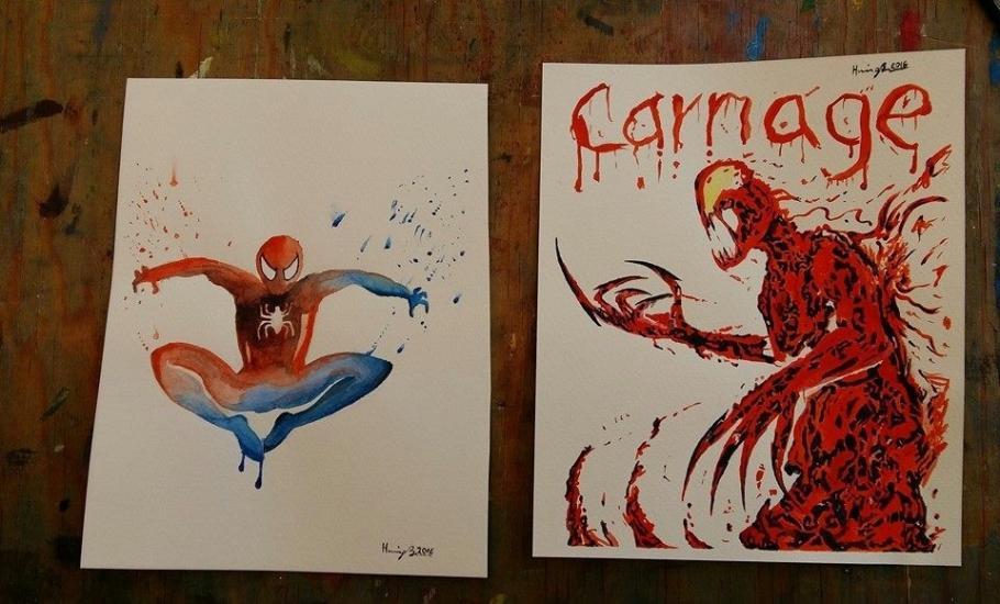 Spiderman & Carnage