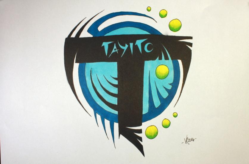 Tayito logo (TIME LAPSE youtube video)