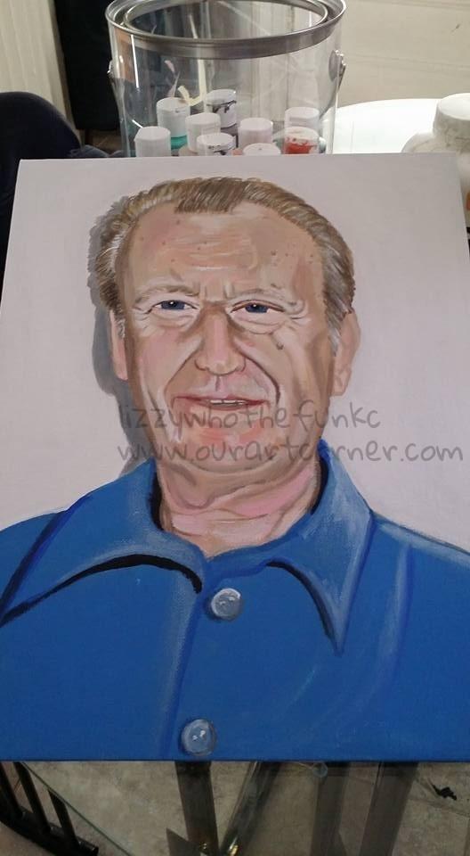 papa portrait #2