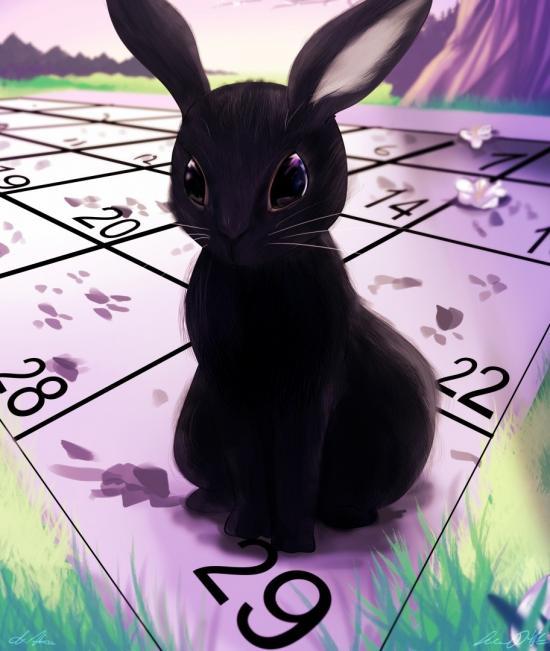 Leap Year Bunny