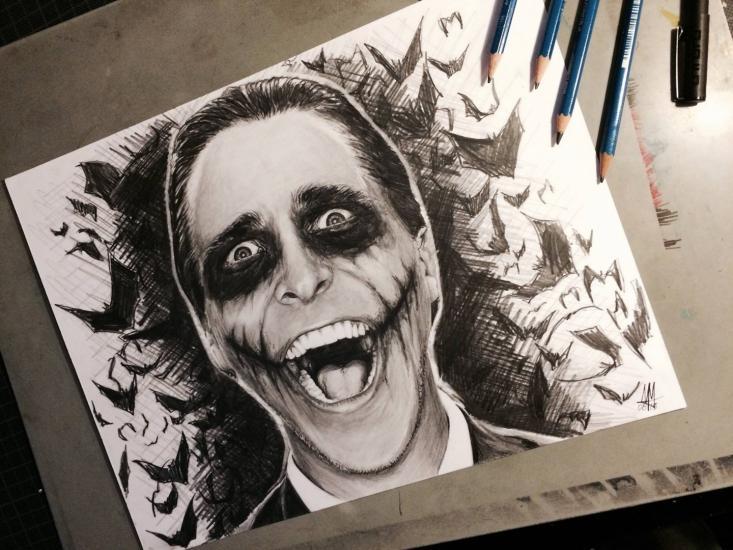 Christian Bale - Joker