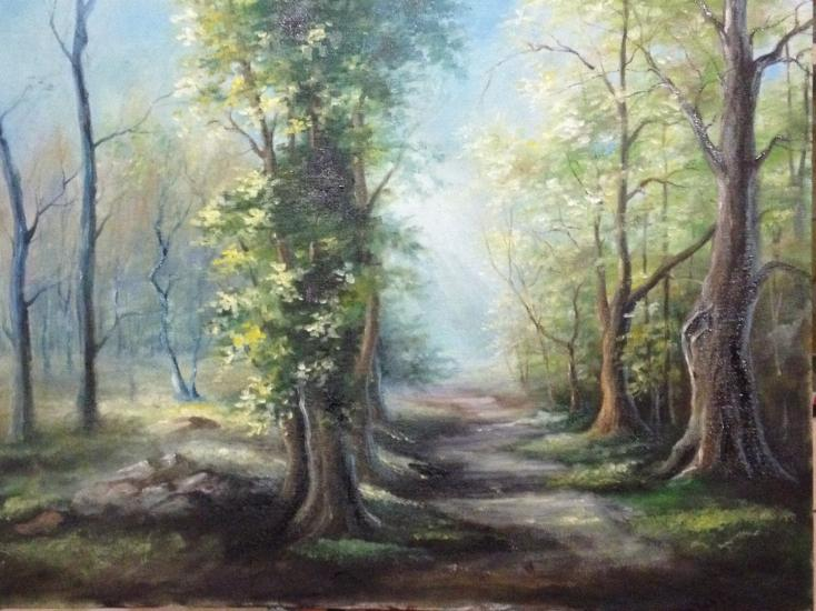 Path through the forest (in progress)