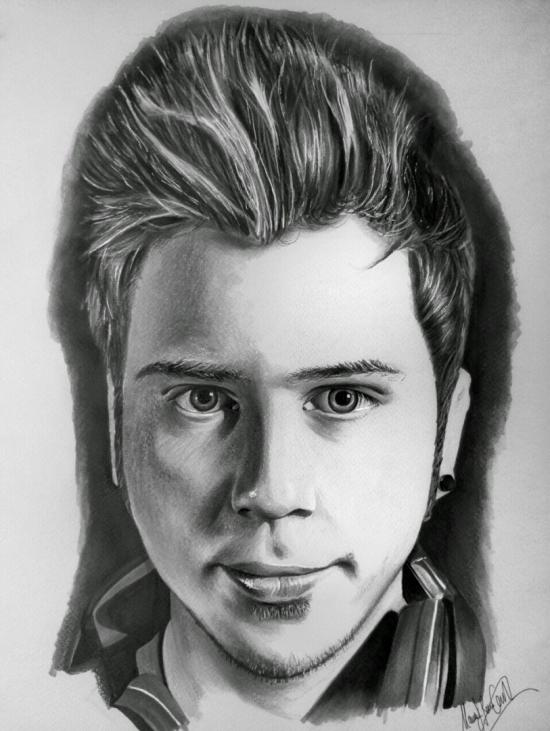 ElRubiusOMG - Youtuber Portrait Drawing Copic