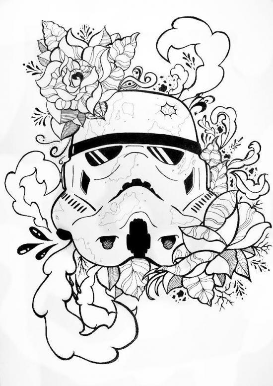 Stormtrooper's rose