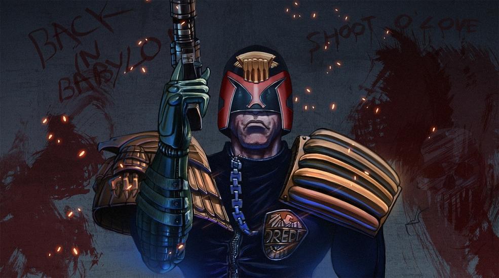 Judge Dredd is back