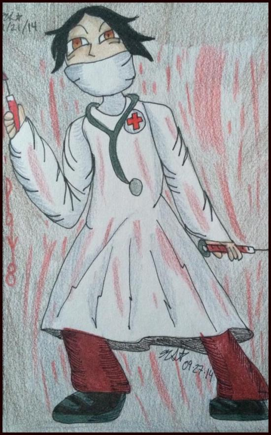 Habiki as a Mad Doctor
