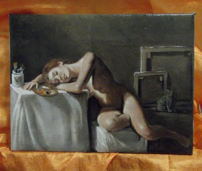 the artist's long sleep