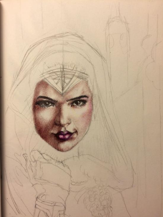 Wonder woman WIP 2