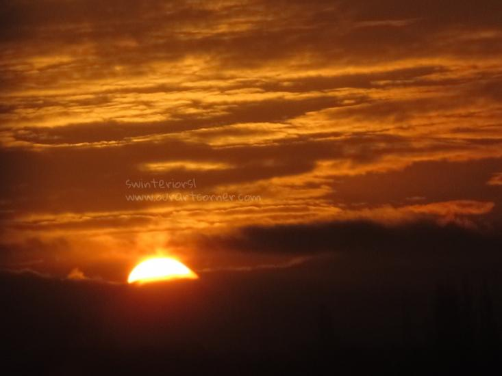 Sunrise in Bolton