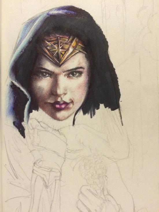 Wonder woman by Gal gadot WIP