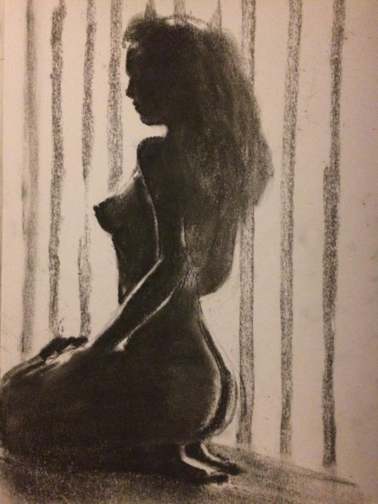 Silouethe sketch