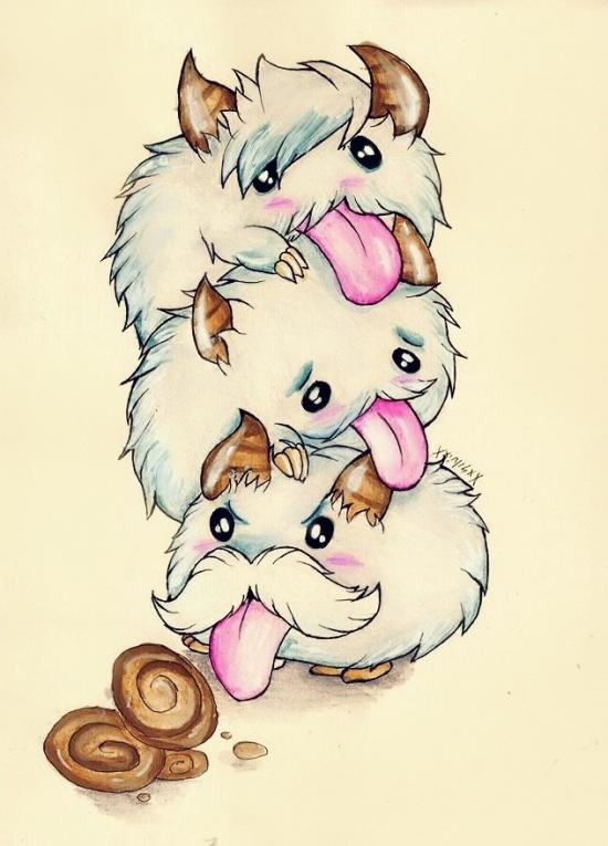 which poro will get the cookies? (LOL)