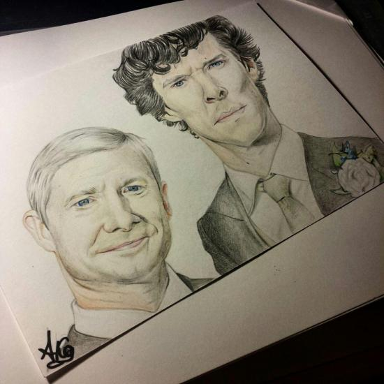 Holmes and Watson married