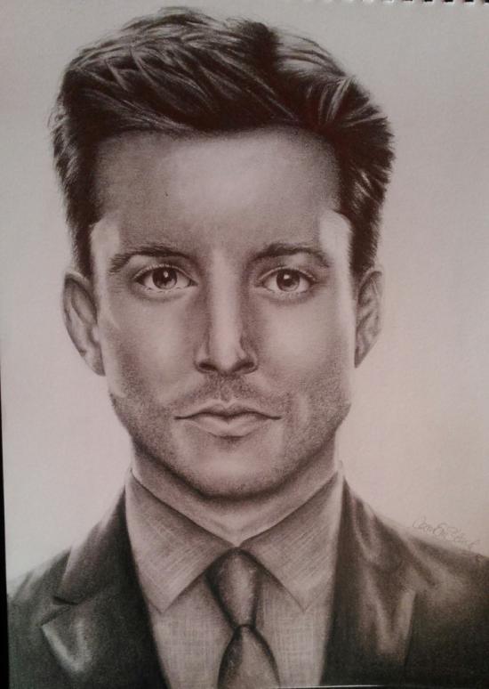 Jensen Ackles Portrait