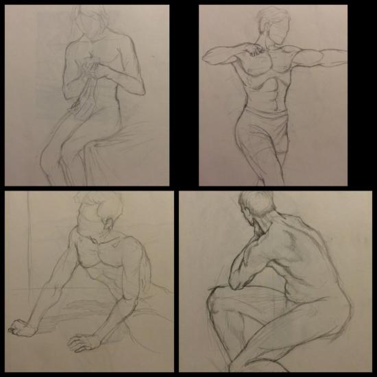 Sketches for anathomy 0025