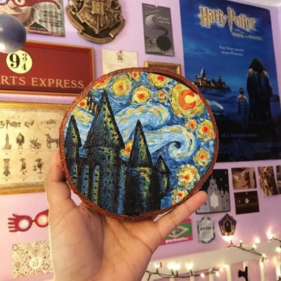 Starry Hogwarts