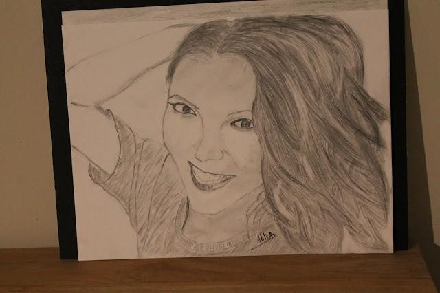 drawing a3  María Isabel  singer