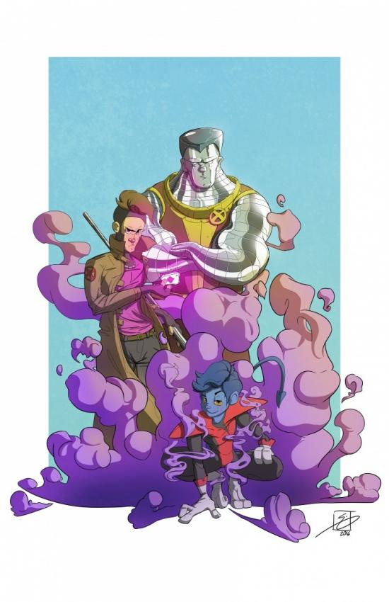 X-Men B-Team