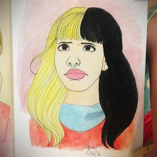 Melanie Martinez fan art