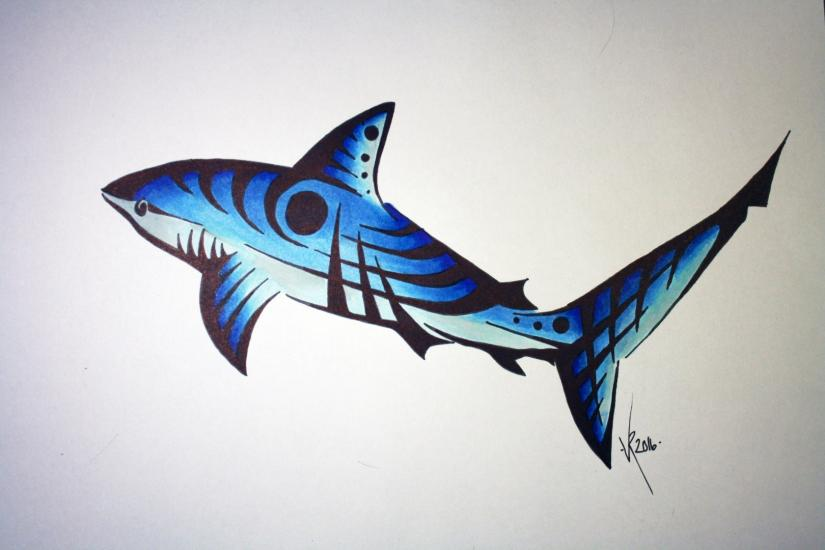 Shark Tribal (With YOUTUBE video)