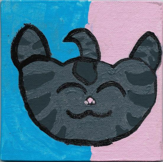 fabledkitty icon painting