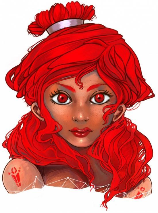 Lady Crimson