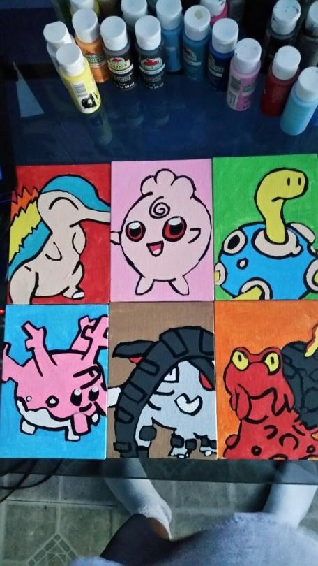 My Pokemon team Gen two