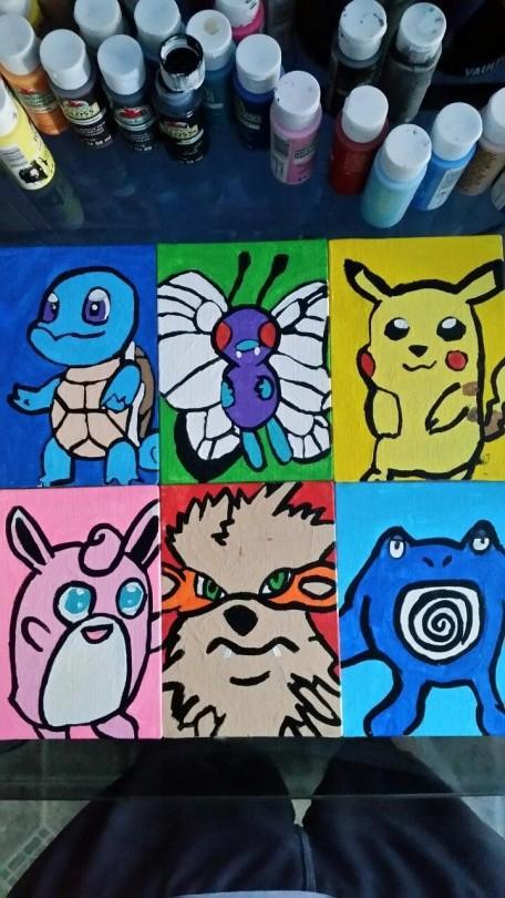 My Pokemon team Gen one