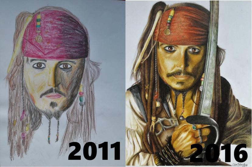 Jack Sparrow Progress