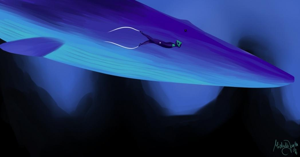 Tribute to the game Abzu