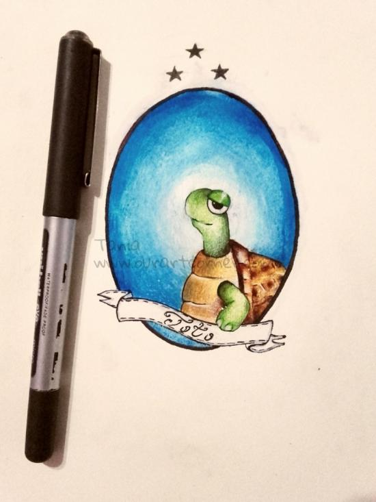 Toto the turtle