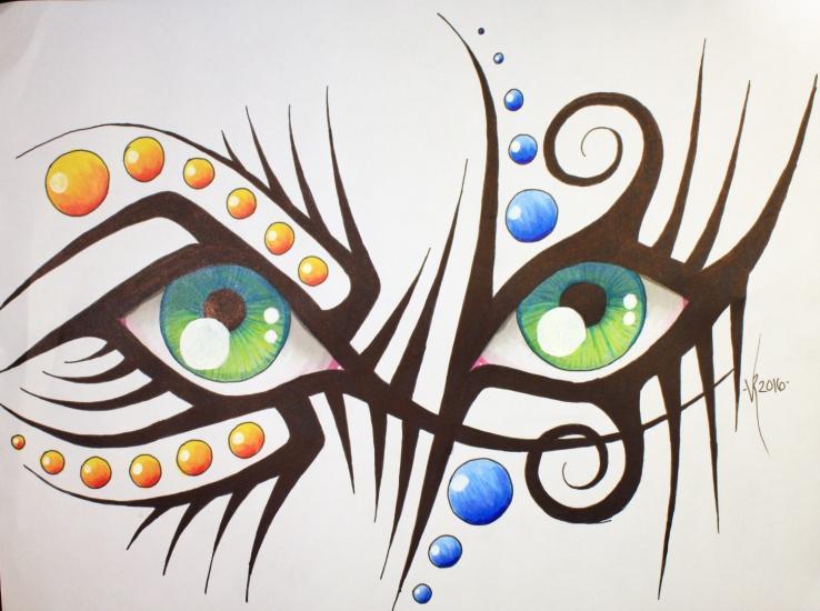 Eye tribal (with YOUTUBE video)