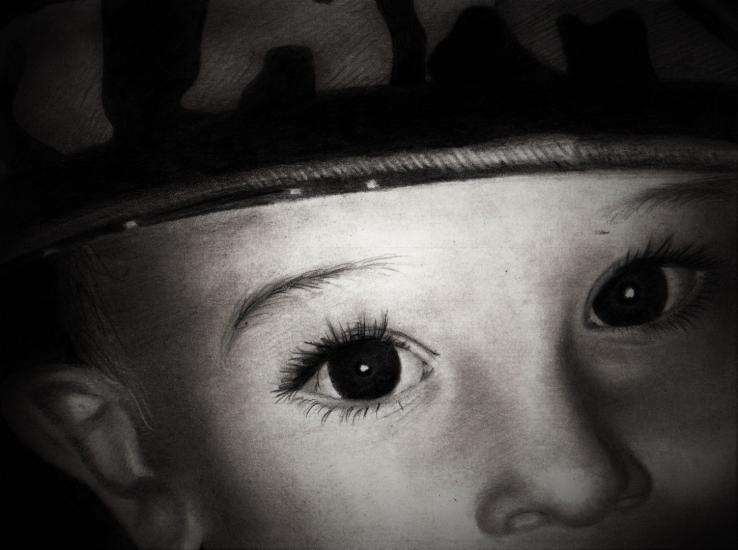 Child close-up
