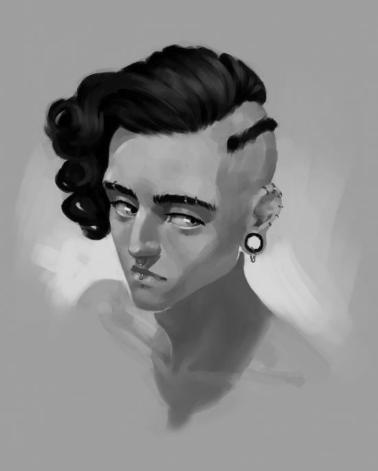 Victor portrait practice 2