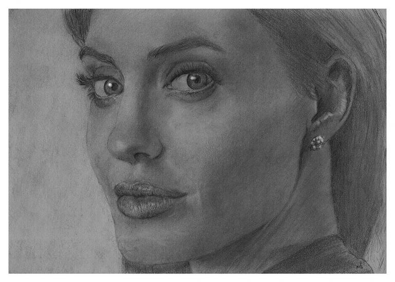 That beautiful woman Angelina